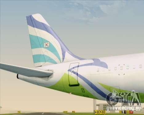 Airbus A321-200 Air Busan для GTA San Andreas двигатель
