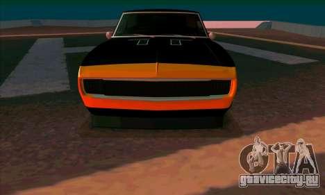 Chevrolet Camaro SS 1967 (Bumblebee) для GTA San Andreas
