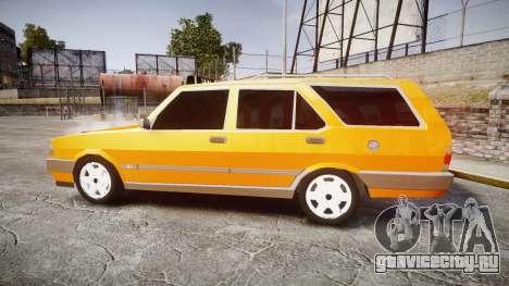 Tofas Kartal SLX Taxi для GTA 4 вид слева