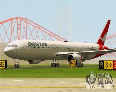 Boeing 767-300ER Qantas (New Colors) для GTA San Andreas вид снизу
