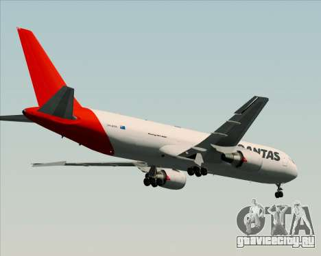 Boeing 767-300F Qantas Freight для GTA San Andreas вид сзади