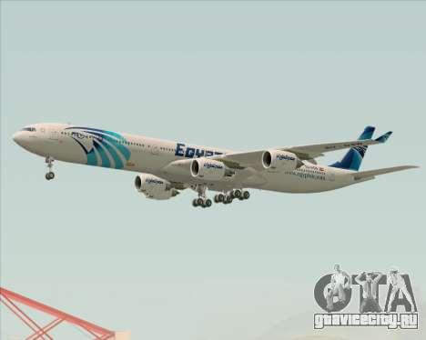 Airbus A340-600 EgyptAir для GTA San Andreas колёса