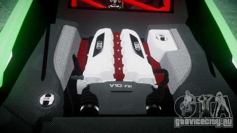 Audi R8 GT Coupe 2011 Yoshino для GTA 4 вид сбоку