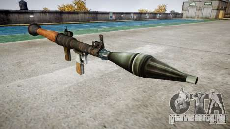Ручной противотанковый гранатомёт (РПГ) для GTA 4