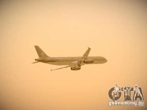 Airbus A321-232 Royal Jordanian Airlines для GTA San Andreas вид снизу
