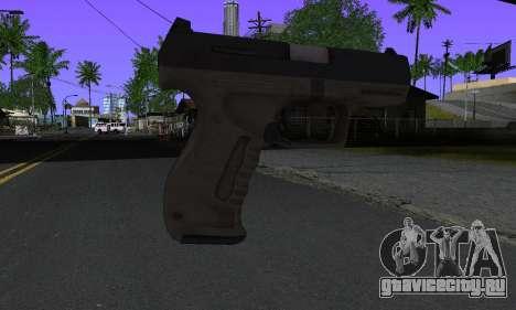 Walther P99 Bump Mapping v2 для GTA San Andreas второй скриншот