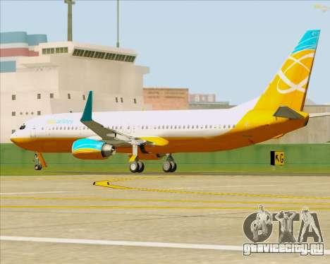 Boeing 737-800 Orbit Airlines для GTA San Andreas вид сверху