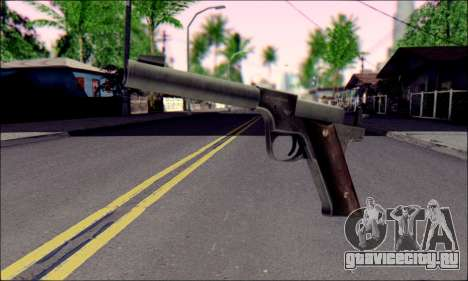 Silenced Pistol from Death to Spies 3 для GTA San Andreas