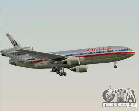 McDonnell Douglas DC-10-30 American Airlines для GTA San Andreas двигатель
