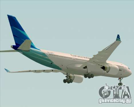 Airbus A330-243 Garuda Indonesia для GTA San Andreas двигатель