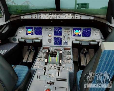 Airbus A321-200 Jetstar Airways для GTA San Andreas салон