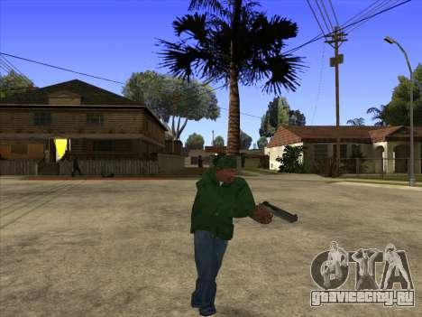 Cleo Walk Style для GTA San Andreas третий скриншот