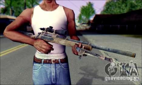 M24Jar Снайперская винтовка из SGW2 для GTA San Andreas третий скриншот