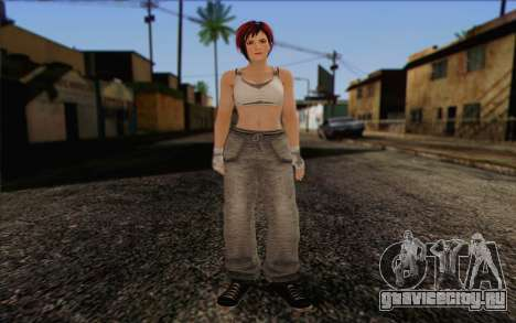 Mila 2Wave from Dead or Alive v11 для GTA San Andreas