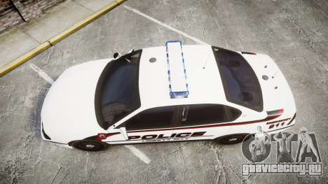 Chevrolet Impala 2003 Liberty City Police [ELS] для GTA 4 вид справа
