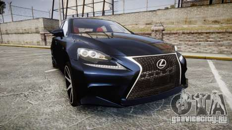 Lexus IS 350 F-Sport 2014 Rims2 для GTA 4