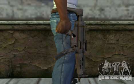MP5 from FarCry 3 для GTA San Andreas третий скриншот