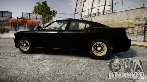 GTA V Bravado Buffalo Unmarked [ELS] Slicktop для GTA 4 вид слева