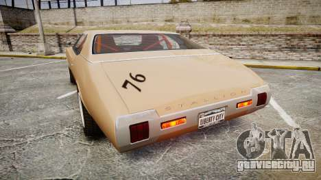 Classique Stallion 2Gen для GTA 4 вид сзади слева