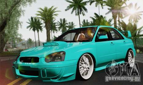 Subaru Impreza RC для GTA San Andreas