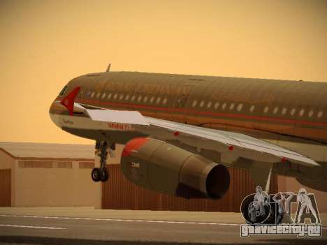 Airbus A321-232 Royal Jordanian Airlines для GTA San Andreas
