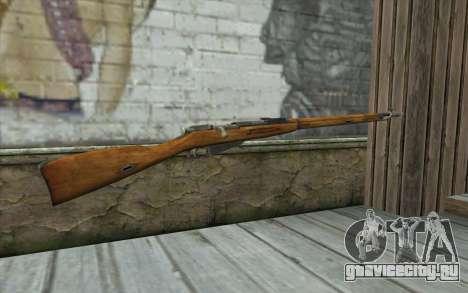 Винтовка Мосина v5 для GTA San Andreas второй скриншот