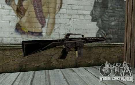 M16 from Beta Version для GTA San Andreas второй скриншот