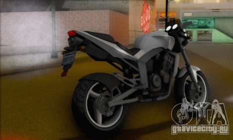 Vader from GTA 5 для GTA San Andreas вид слева