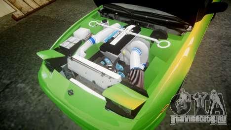 Nissan 240SX S13 Tuned для GTA 4 вид сбоку