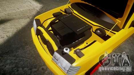Mercedes-Benz W124 Brabus для GTA 4 вид сбоку