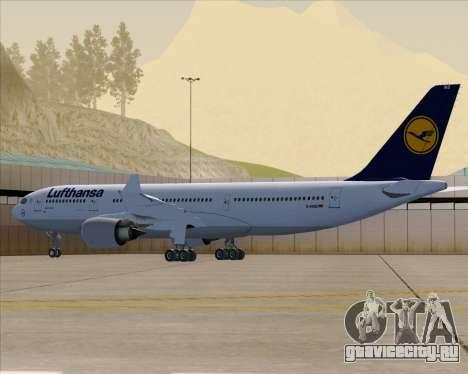 Airbus A330-200 Lufthansa для GTA San Andreas