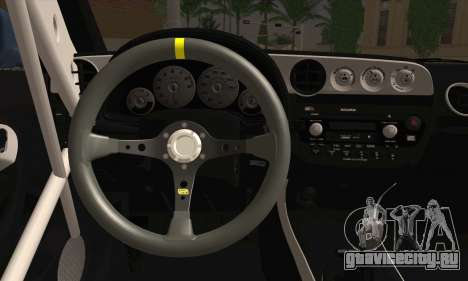 Honda Integra DC5 Stance для GTA San Andreas вид сзади слева