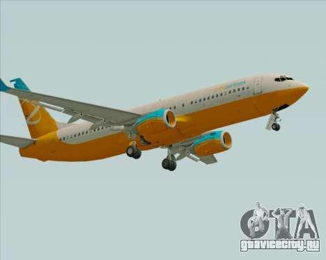 Boeing 737-800 Orbit Airlines для GTA San Andreas вид слева