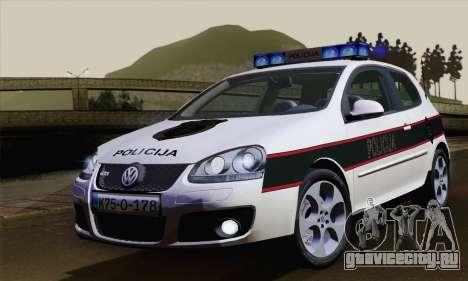 Volkswagen Golf 5 (ELM) для GTA San Andreas