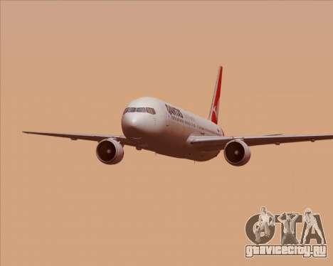 Boeing 767-300ER Qantas (New Colors) для GTA San Andreas салон