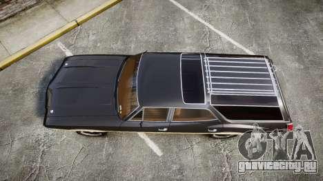 Oldsmobile Vista Cruiser 1972 Rims1 Tree1 для GTA 4 вид справа