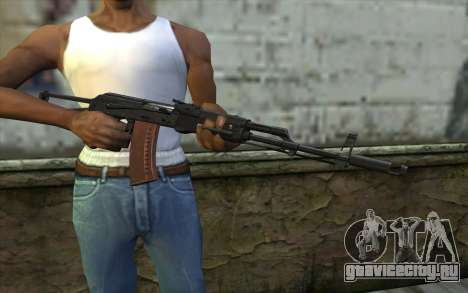 АКС-74 для GTA San Andreas третий скриншот