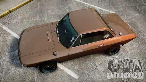 Lancia Fulvia HF (Camber) для GTA 4 вид справа