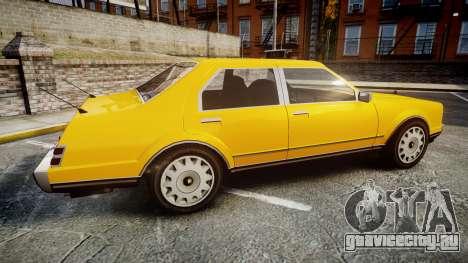 Albany Romans Taxi для GTA 4 вид слева