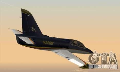 Aero L-39C для GTA San Andreas вид сзади слева