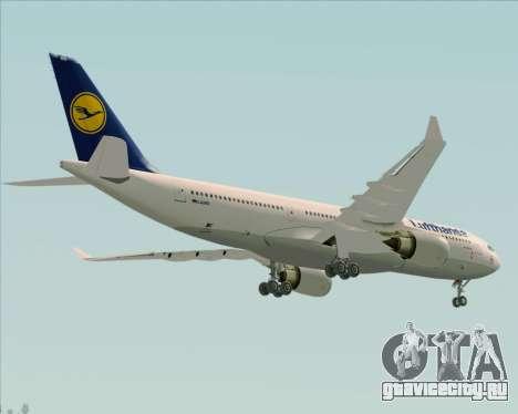 Airbus A330-200 Lufthansa для GTA San Andreas вид сбоку