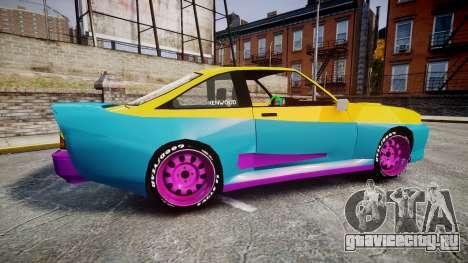 Opel Manta B GTE для GTA 4 вид слева