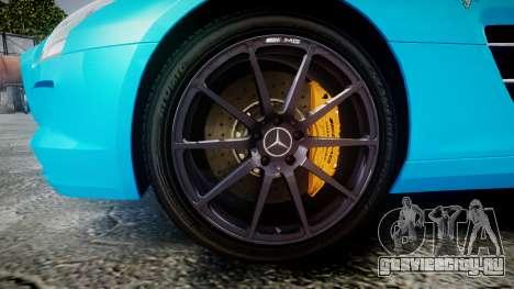 Mercedes-Benz SLS AMG v3.0 [EPM] Kotori Minami для GTA 4 вид сзади