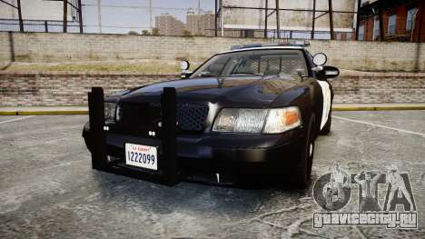 Ford Crown Victoria CHP CVPI Liberty [ELS] для GTA 4