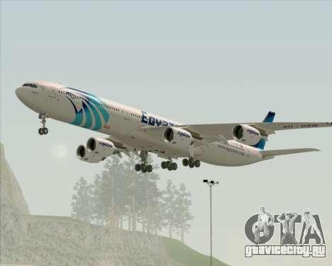 Airbus A340-600 EgyptAir для GTA San Andreas вид справа