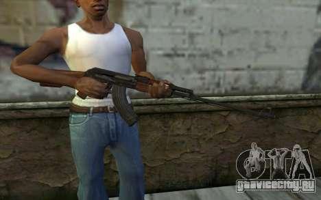 RPK 74 from Battlefield 4 для GTA San Andreas третий скриншот
