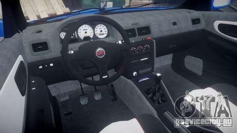 Subaru Impreza WRC 1998 SA Competio для GTA 4 вид сзади