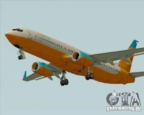 Boeing 737-800 Orbit Airlines для GTA San Andreas двигатель