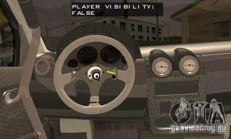 Dacia Logan Trophy Edition 2005 для GTA San Andreas вид сзади слева