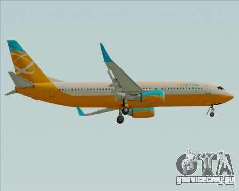 Boeing 737-800 Orbit Airlines для GTA San Andreas вид справа